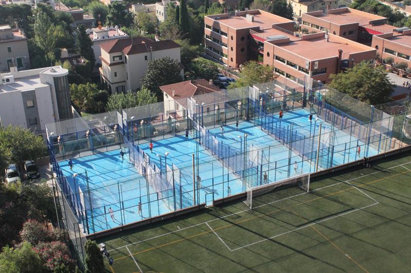 Teampartners projectes Pàdel Blau