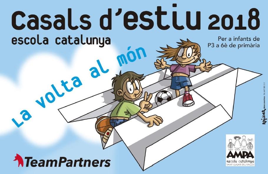 imatge casal estiu escola catalunya
